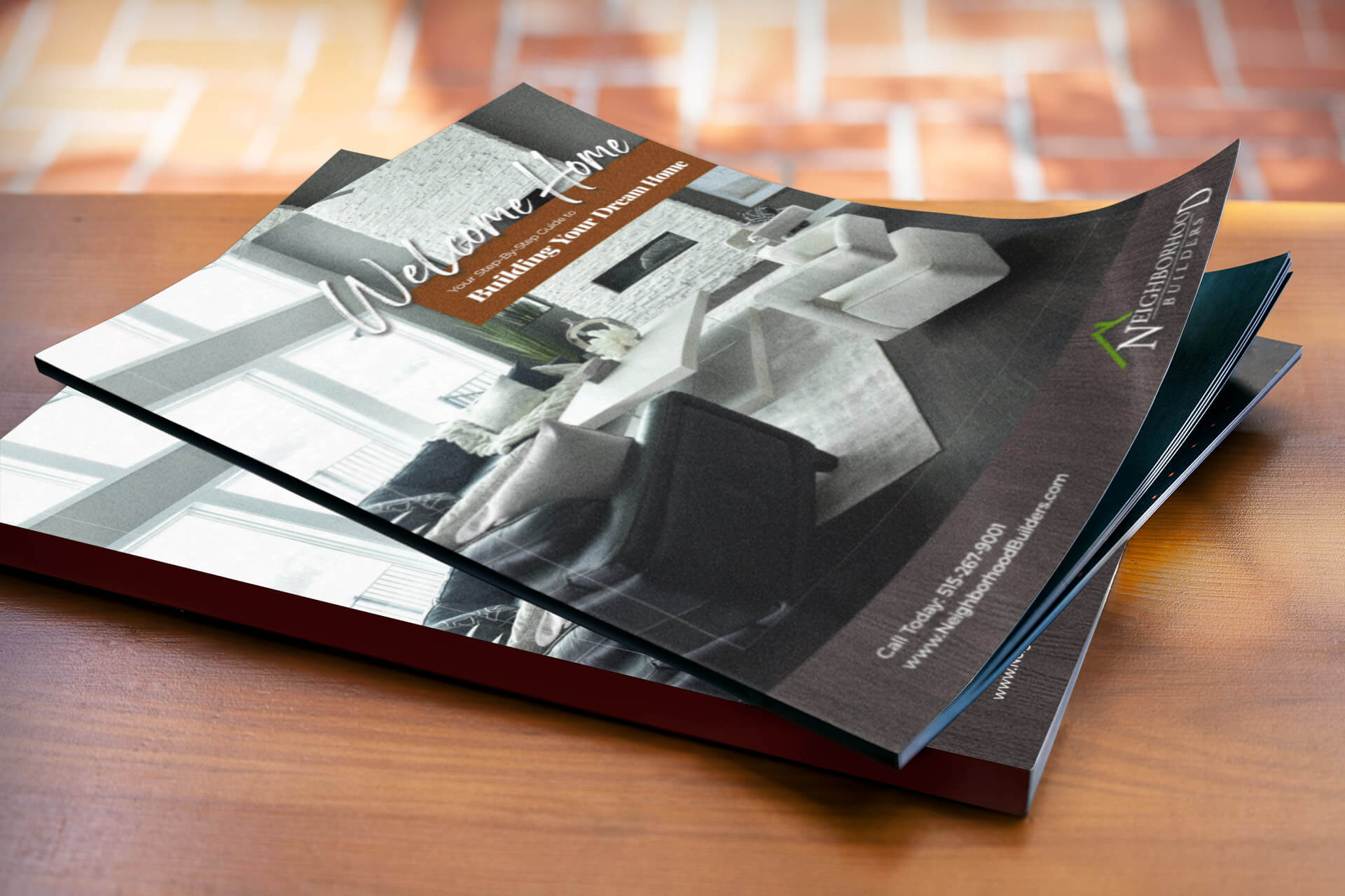Graphic Design - Brochure for Neighborhood Builders