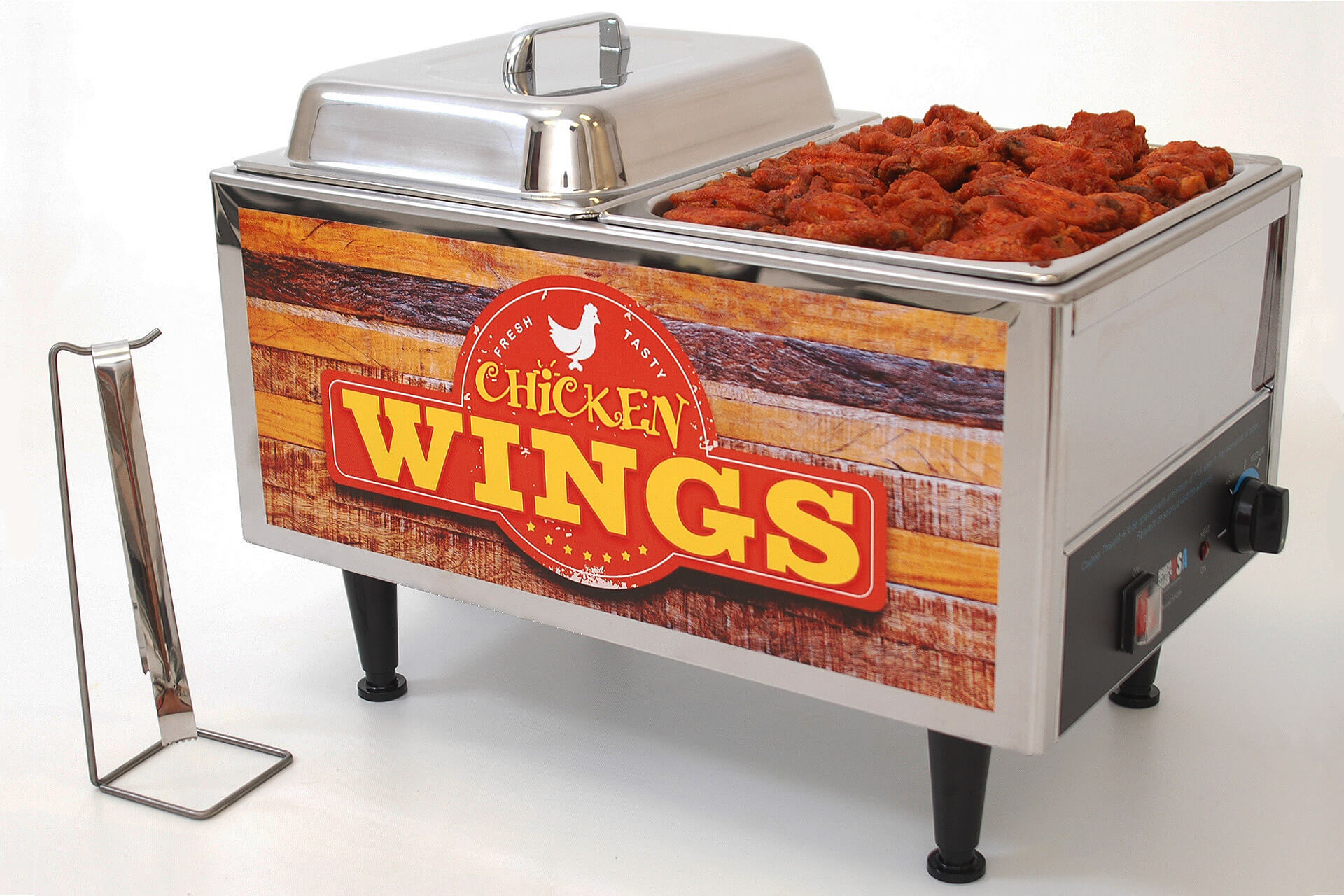 Branding - Label Design for Benchmark USA's Wing Warmer