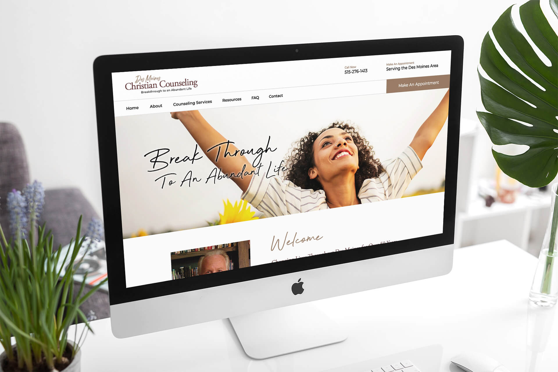 Website Design for Des Moines Christian Counseling