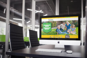 Website Design for Lawn Services Company, Signature Lawns